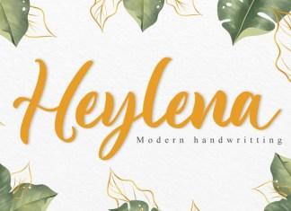 Heylena Script Font