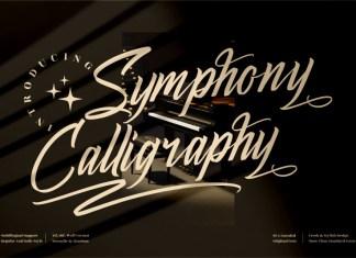 Symphony Calligraphy Script Font