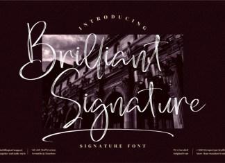 Brilliant Signature Script Typeface