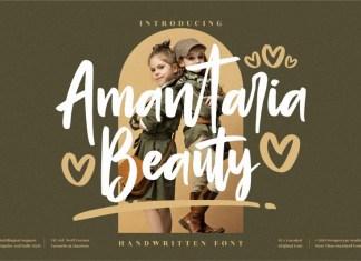 Amantaria Beauty Handwritten Font
