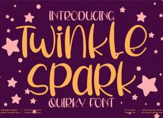 Twinkle Spark Display Font