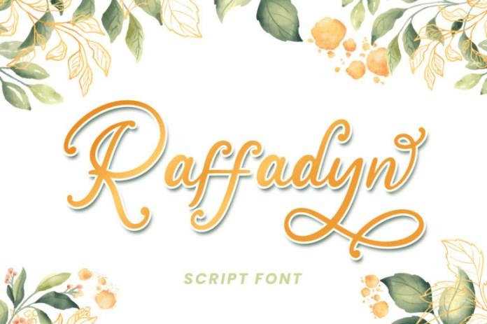 Raffadyn Calligraphy Font