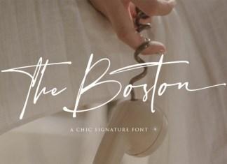 The Boston Handwritten Font