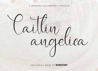 Caitlin Angelica Script Font