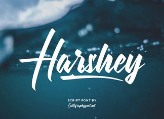 Harshey Script Font