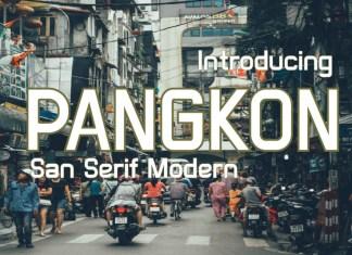 PANGKON Sans Serif Font