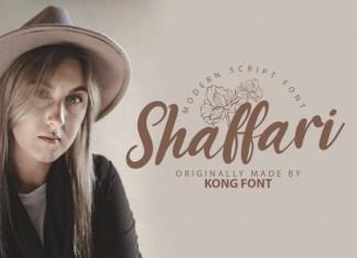 Shaffari Script Font
