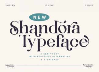 Shandora Serif Font