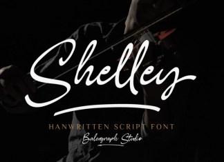 Shelley Handwritten Font