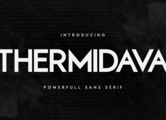 Thermindava Sans Serif Font
