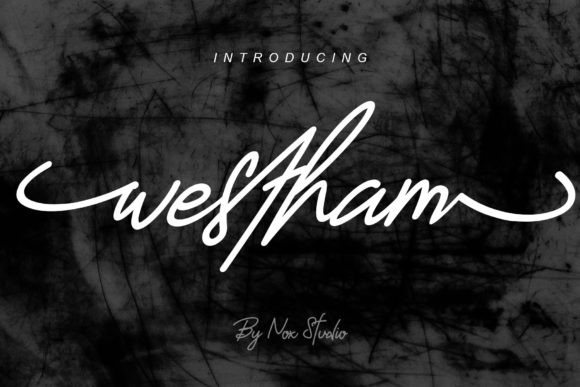 Westham Handwritten Font