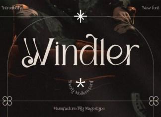 Windler Serif Font