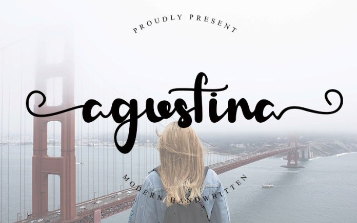 Agustina Script Font