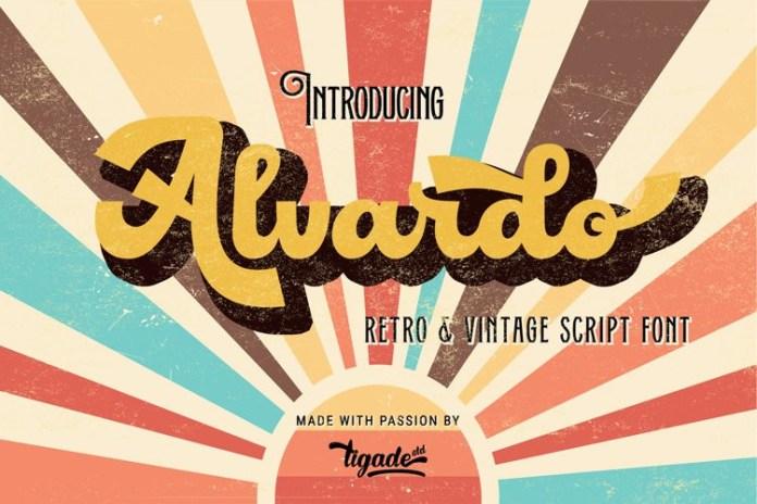 Alvardo Script Font