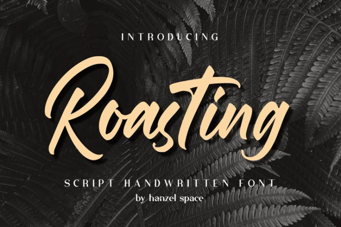Roasting Bild Script Font