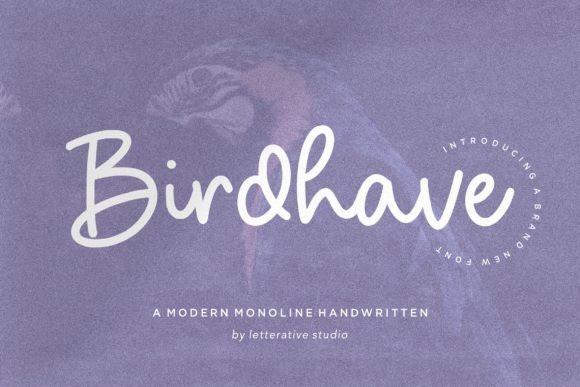 Birdhave Handwritten Font
