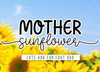Mother Sunflower Script Font