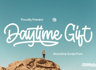 Daytime Gift Script Font