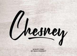Chesney Script Font