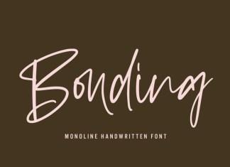Bonding Script Font