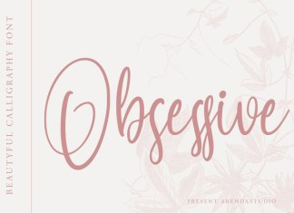 Obsessive Handwritten Font