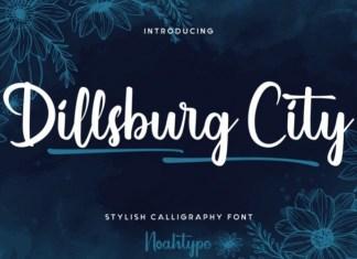 Dillsburg City Script Font