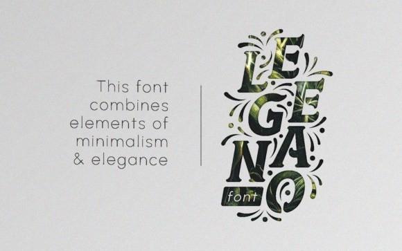 Elegano Display Font