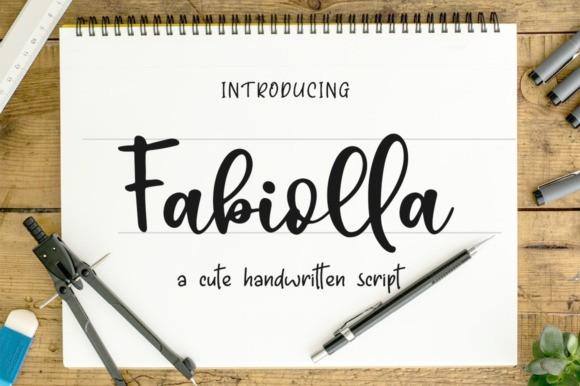 Fabiolla Script Font