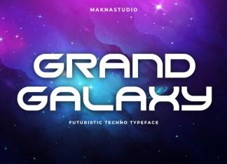 GRAND GALAXY Display Font