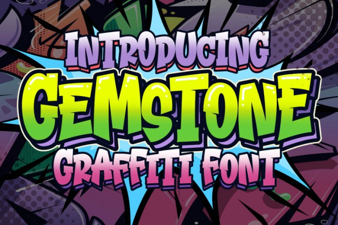 Gemstone Display Font