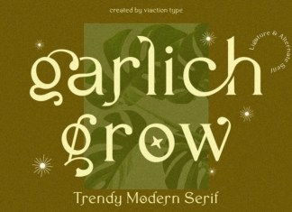 Garlich Grow Serif Font