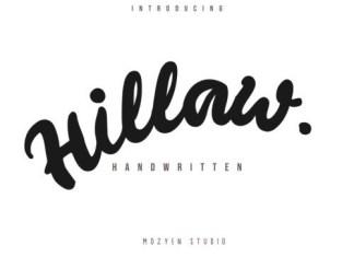 Hillaw Script Font