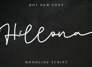 Hillona Handwritten Font