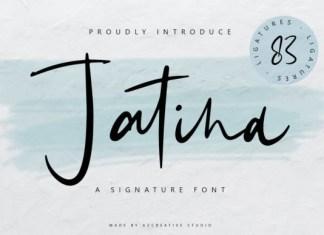 Jatina Script Font