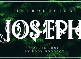 Joseph Display Font