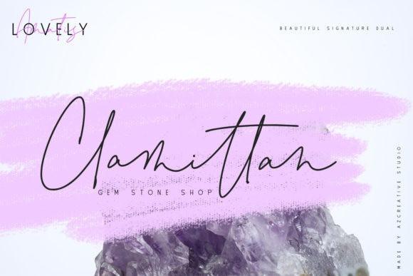 Lovely Amatis Handwritten Font
