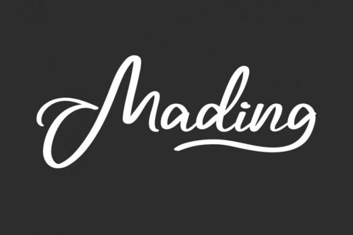 Mading Handwritten Font