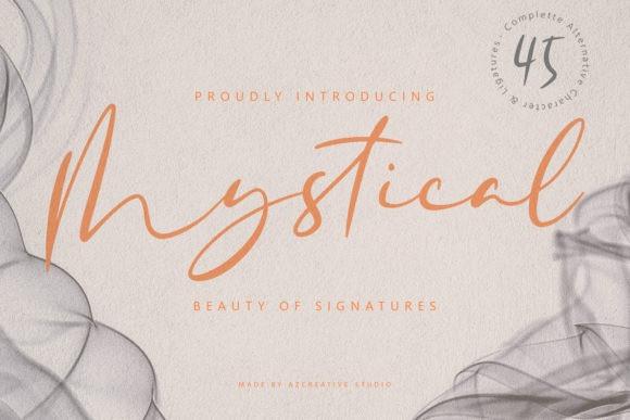 Mystical Script Font