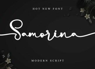 Samorina Script Font
