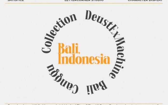 Satisfice Serif Font