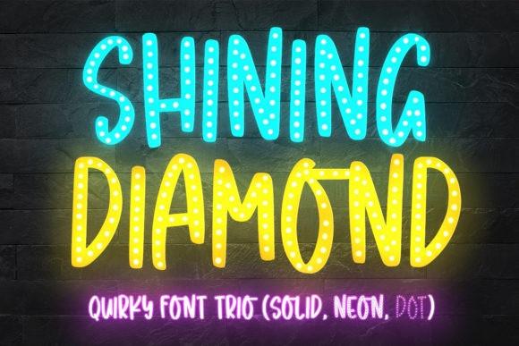 Shining Diamond Display Font