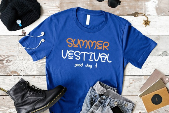 Summer Baby Display Font
