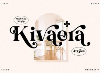 Kivaera Serif Font