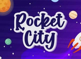 Rocket City Display Font