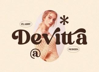 Devitta Serif Font