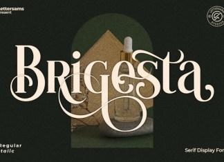 Brigesta Serif Font