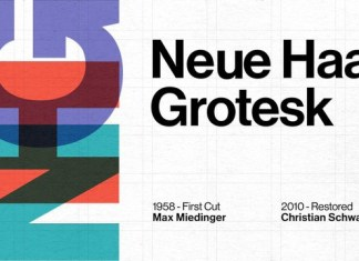Neue Haas Grotesk Sans Serif Font