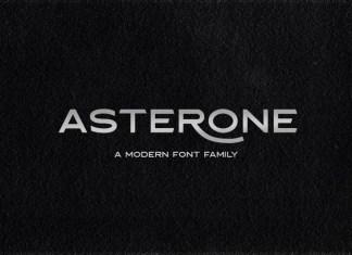 Asterone Sans Serif Font
