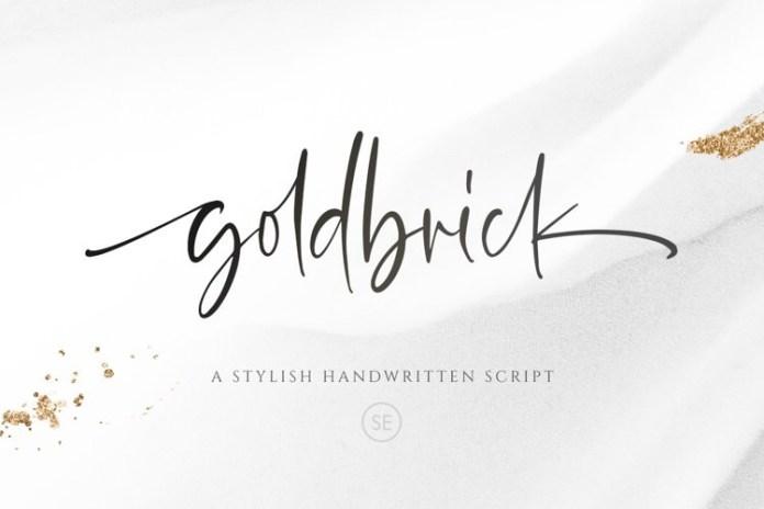 Goldbrick Script Font