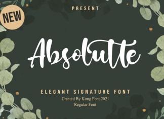Absolutte Script Font